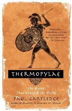 Thermopylae: The Battle That Changed the World by Cartledge, Paul, Good Book