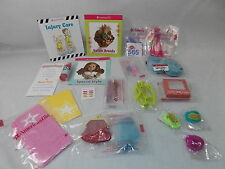 American Girl MY AG SET 2 MISC 20 PC IN BAG CANDY RUBY PURSE TOWEL for Doll NEW