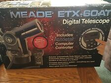 **SALE!**MEADE ETX-60AT DIGITAL TELESCOPE W/AUTOSTAR COMPUTER CONTROL*USED ONCE*