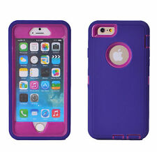 "Hybrid Protective Shockproof Hard Case Cover For Apple iPhone 6 6S 4.7/5.5"" Plus"