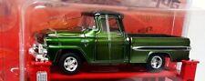 `59 GMC  Truck  Green/Black 1959 + Hebebühne *** M2 Machines 1:64 Lose /NEU