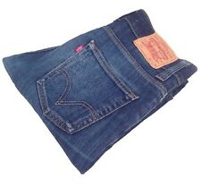 Men's Levis 511 Slim Jeans Retro Vintage Red Tab Blue W:31 L:34 Rare