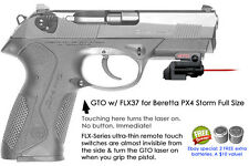 ArmaLaser GTO for Beretta PX4 Storm Full Size Red Laser Sight w/FLX37 Touch Grip