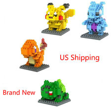 Pokemon Go Set 4pcs Building Toy Nano mini Block Mini Diamond Set - From US