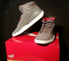 PUMA - Preciso Mid BMW - Steel Gray/Steel Grey - Men's Size:6 - 304640/02     B