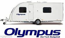 2 X BAILEY OLYMPUS ALU-TECH BODYSHELL DECALS STICKERS CHOICE OF COLOURS