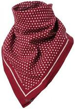 Cafe Racer Motorcycle Retro Neck Scarf Bandana Red Polka Design New