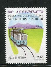 SAN MARINO 2012 ELECTRIC RAILWAY/TRAIN/MOUNTAIN/TRANSPORTATION/TECHNOLOGY/VIEW