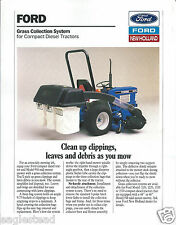 Equipment Brochure - Ford - Grass Collection System - 1991 (E2871)