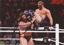WWE WRESTLING: ZACK RYDER SIGNED 6x4 ACTION PHOTO+COA **PROOF**