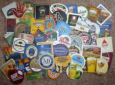 Lot of 50 different beer coasters from Various Breweries, ALL NEW