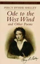 Dover Thrift Editions: Ode to the West Wind and Other Poems by Percy Bysshe...