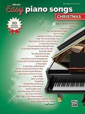 Alfred's Easy: Alfred's Easy Piano Songs -- Christmas : 50 Christmas...