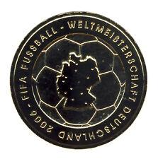 DEUTSCHLAND 10 Euro SILBER 2003 - Fussball-WM 2006 - G - GOLDAPPLIKATION