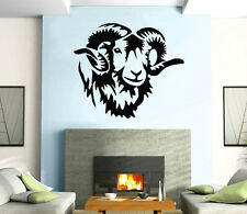 Wall Stickers Vinyl Decal Animal Horn Sheep Nature ig192