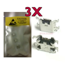 3 X New Micro USB Charging Sync Port Charger For ZTE FANFARE Z792 V889S USA