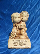 1974 Paula Figurine It Starts With L Ends With E And In Between Are O And V W395