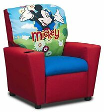 Kids Recliner Armchair Disney Mickey Mouse Toddler Chair Children Bedroom Seat