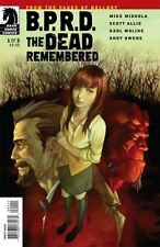 BPRD THE DEAD REMEMBERED - COMPLETE SET ISSUES 1 2 3 - MIGNOLA HELLBOY