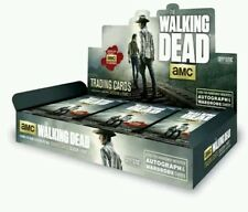 THE WALKING DEAD SEASON 4 PART 1 TRADING CARDS SEALED HOBBY BOX CRYPTOZOIC