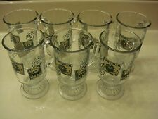 Set of 7 Collectible ANCHOR HOCKING Irish-Killarney/Limerick/Dublin Coffee Mugs