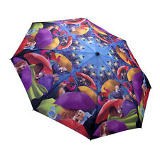 Walk in the Park Dog & Cat Design Automatic Umbrella Mother Dad Travel Xmas Gift