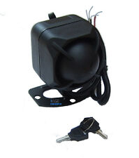 12V 6 Tone Battery Backup Siren for Car Alarm 120dB. (+) and (-) trigger