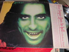 """LP 12"""" ALICE COOPER GOES TO HELL ITALY 1976 EX+ CON INNER SLEEVE"""