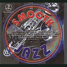Smooth Jazz [Sony] [Slipcase] by Various Artists (CD, Aug-2001, 3 Discs, Sony...