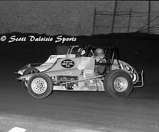 ORIGINAL 1981 ASCOT  JIM OSKIE CRA SPRINT CAR PHOTO - JEFF HEYWOOD