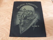 BLACK SABBATH - U.S. TOUR 78 GIANT BACK PATCH (NEW) & OFFICIAL BAND MERCHANDISE