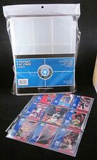 (10) CSP 9 Pocket Pages Baseball Trading Card Coupon Album Binder Holder