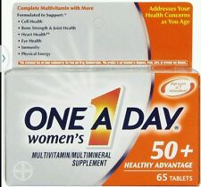 One A Day Women's 50+ Healthy Advantage Multivitamin/Mineral 65 Tablets