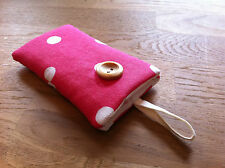 Fabric iPod Nano 7th / 8th Generation Padded Case Cover - Cath Kidston Red Spot