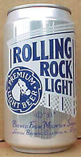 ROLLING ROCK LIGHT BEER Can with HORSE, Latrobe, PENNSYLVANIA Grade 1/1+