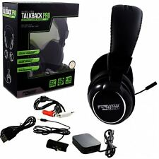 New KMD Talkback PRO Wireless Universal Headset For PS3 Xbox 360 Mac PC
