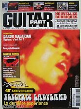 GUITAR PART n°174 # 2008 # JIMI HENDRIX / ELECTRIC LADYLAND 40th + PARTITIONS