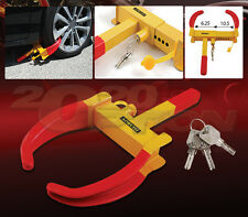 HEAVY DUTY WHEEL LOCK ANTI-THEFT PARKING CLAMP CLAW BOOT FOR ACURA HONDA