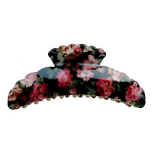 Large Flower Hair Jaw Claw Clip