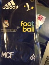 Real Madrid X2  third strip socks Adidas 10.5 to 12 CF 2015-2016 YOU GET 2