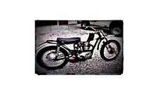 1973 Bsa B50 Bike Motorcycle A4 Retro Metal Sign Aluminium