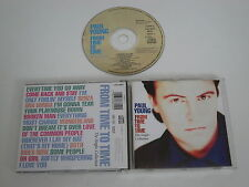 PAUL YOUNG/FROM TIME TO TIME/THE SINGLES COLLECTION(COLUMBIA 468825 2) CD ALBUM