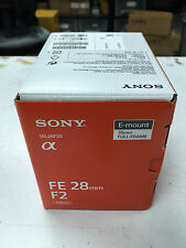 Sony SEL28F20 FE 28mm F2 f/2 E-Mount Wide Angle Lens 35mm FULL-FRAME