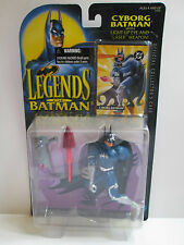 Legends Of Batman Cyborg Batman With Light Up Eye & Laser Weapon (Kenner 1994)