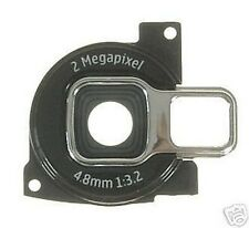 Genuine Nokia Black Camera Bezel Spare Part for the N72