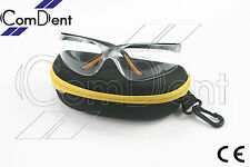 Safety Eye Wears Glasses Goggles anti fog scratch resistant, dental lab, YELLOW