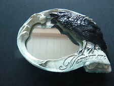 Alchemy Nevermore compact hand mirror - The Vault V27 gothic skull & crow, magic