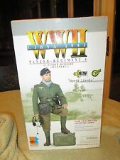 dragon action figure german panzer horst lerner 1/6 12'' ww11 did cyber hot toy