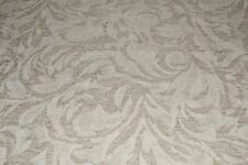 """Linen Cotton Upholstery Jacquard Natural Pre Washed 54"""" Wide Fabric by the Yard"""