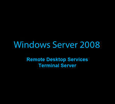 10 TERMINALE/Remote Desktop Services (TS/RDS) licenze CAL WINDOWS SERVER 2008 (r2)